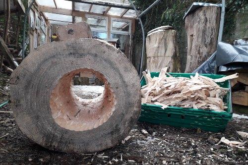 Loghive Building Workshop for Bee Rehabilitation – Cobargo locals